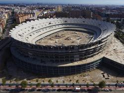 El Nou Mestalla será terminado en los próximos años. (Foto: Getty)
