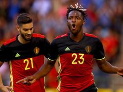 Michy Batshuayi erzielte das 1:0 für die Belgier