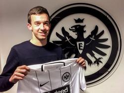 Marijan Cavar wechselt zu Eintracht Frankfurt (Bildquelle: twitter.com/eintracht)