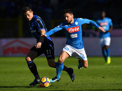 Dries Mertens anotó para los visitantes en el minuto 65. (Foto: Getty)