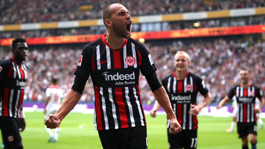 Bas Dost Eintracht Frankfurt