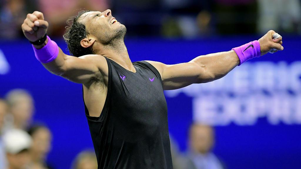Rafael Nadal steht bei den US Open im Viertelfinale