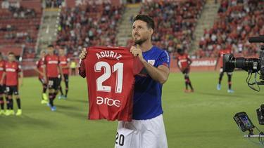 Aduriz falló un penalti en el minuto 96.
