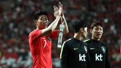 Heung-min Son und Südkorea mussten sich mit einem Unentschieden begnügen