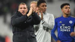 Leicester-Coach Brendan Rodgers ist wieder auf Kurs