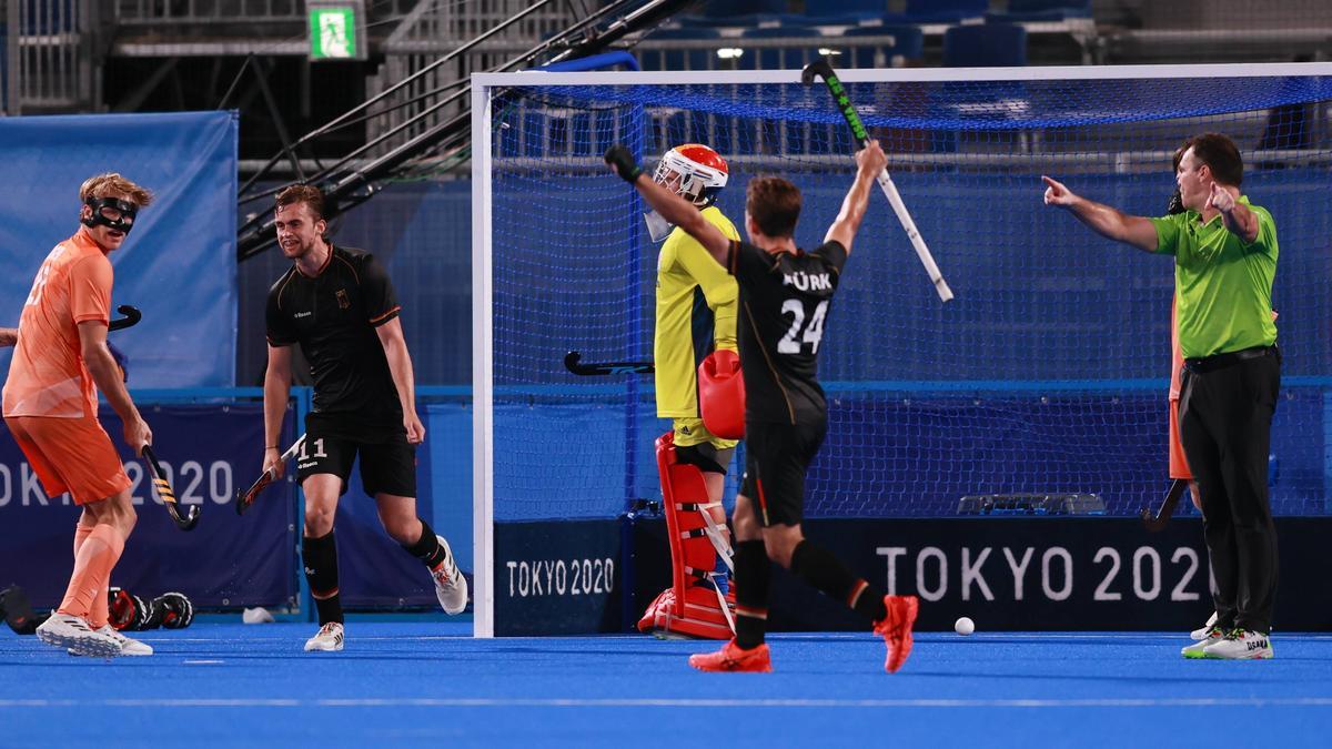 Die deutschen Hockey-Herren stehen im Viertelfinale