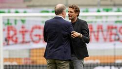 Markus Weinzierl und Stefan Reuter bleiben vorerst beim FC Augsburg