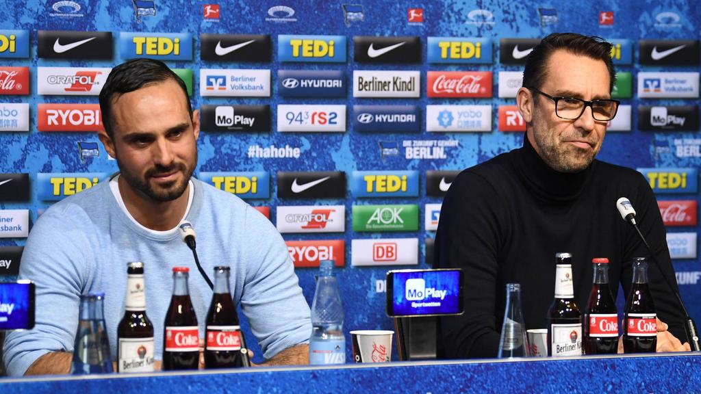 Alexander Nouri (l.) war unter Jürgen Klinsmann Co-Trainer bei Hertha BSC