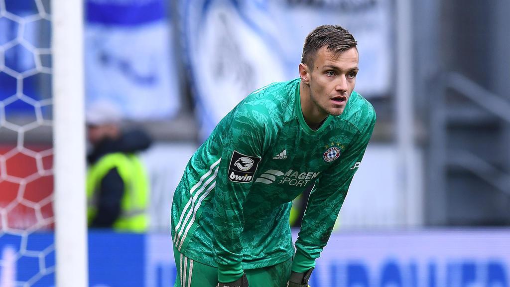 Christian Früchtl steht beim FC Bayern München unter Vertrag