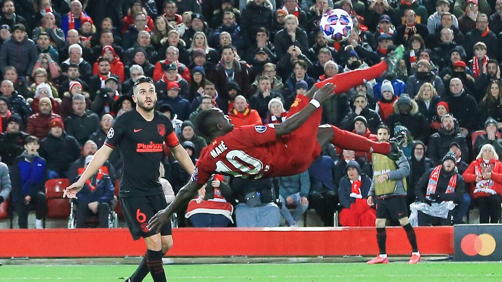 Das Spiel zwischen Liverpool und Atlético fand vor ausverkauftem Haus an der Anfield Road statt