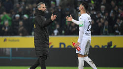 Gladbach-Coach Marco Rose muss gegen Bayer eventuell auf Ramy Bensebaini verzichten