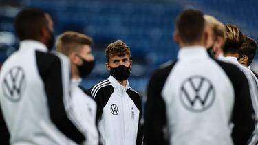 Der DFB-Tross reiste mit dem Flugzeug von Stuttgart nach Basel