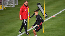 Der FC Bayern besitzt eine Kaufoption für Tiago Dantas (re.)