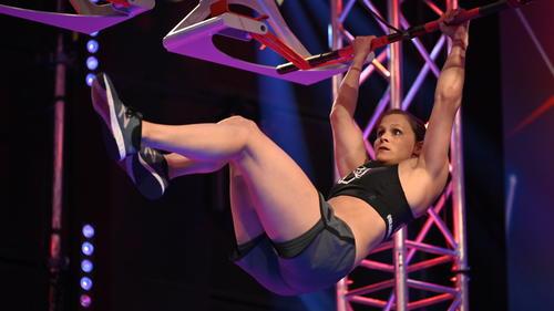 Arleen Schüßler will bei Ninja Warrior ihren Titel verteidigen