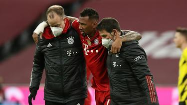 Jérôme Boateng musste verletzt ausgewechselt werden