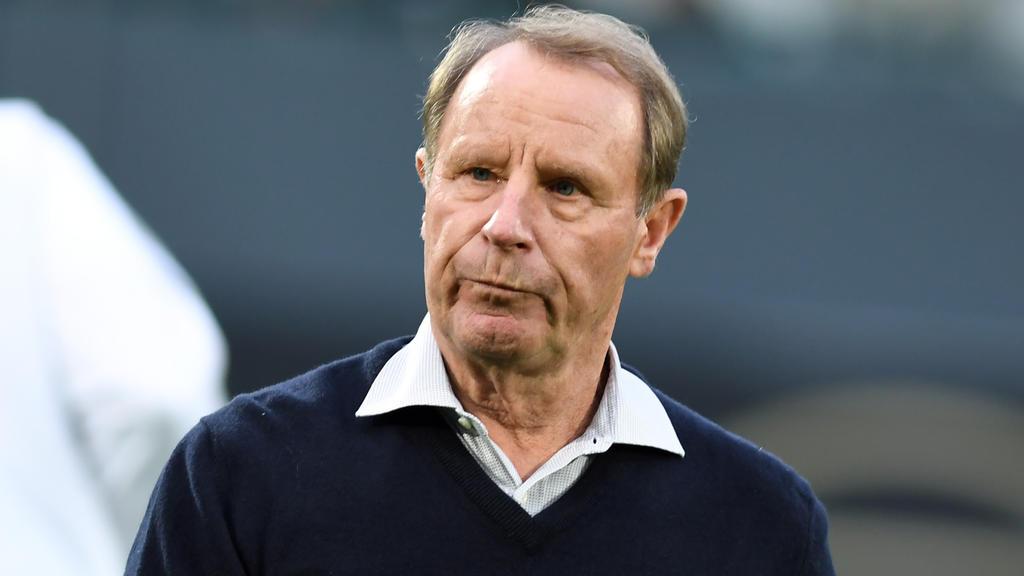 Ist mit dem Gladbacher Saisonverlauf nicht zufrieden: Berti Vogts