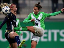 Vanessa Bernauer verlängerte ihren Vertrag in Wolfsburg