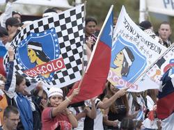 Colo Colo de Chile ganó 2-0 al mexicano Atlas y se instaló en la punta del Grupo 1. (Foto:Getty)