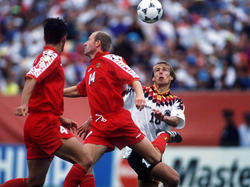 WM 1994: DFB-Elf schlägt Belgien