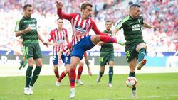 El Atlético estuvo muy desacertado de cara a portería. (Foto: Getty)