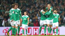 Werder Bremen klettert nach dem Sieg gegen Wolfsburg zwischenzeitlich auf Rang 2