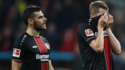 Bayer Leverkusen steht unter Druck