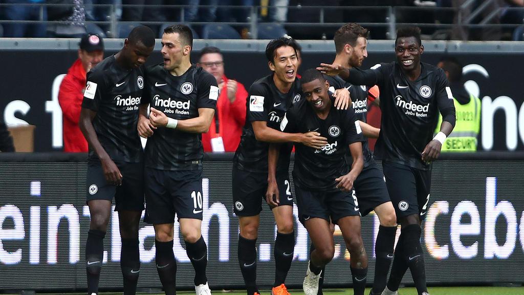 Eintracht Frankfurt hat beste Chancen aufs Weiterkommen