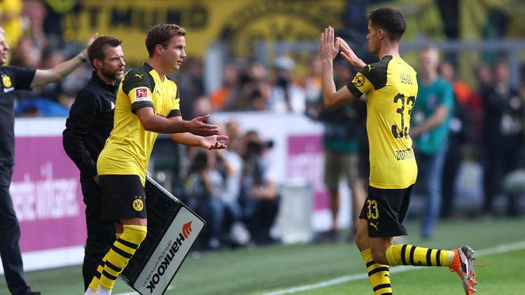 Mario Götze und Julian Weigl dürfen den BVB angeblich verlassen