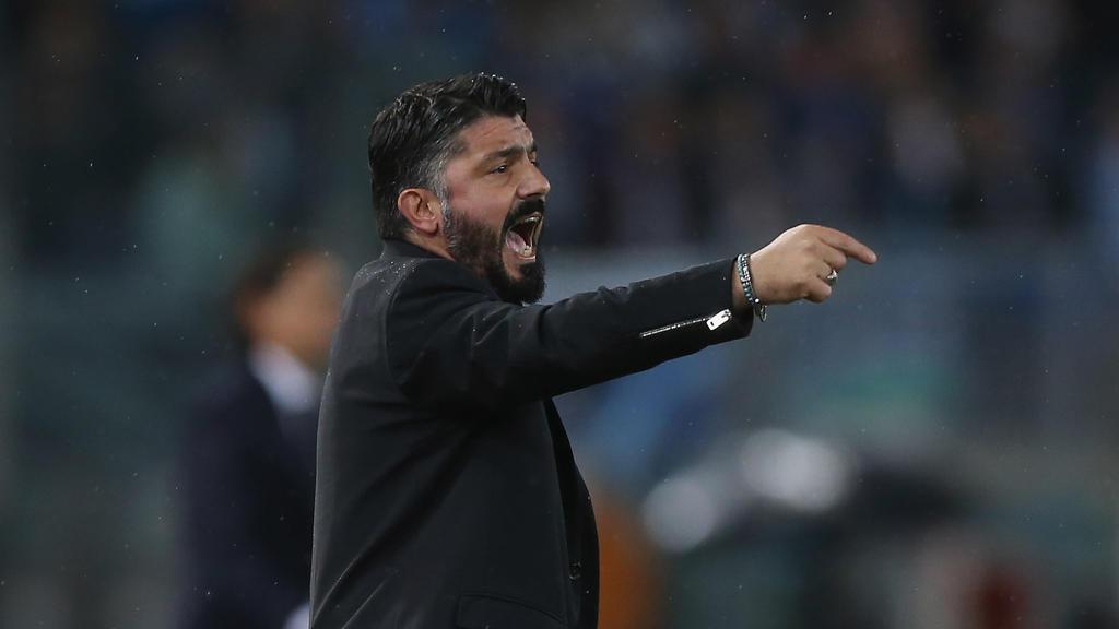 AC Mailands Trainer Gennaro Gattuso reagierte genervt über die Fußballkommentare des Vize-Regierungschefs