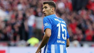 Hat bei Hertha BSC wieder das Training aufgenommen: Marko Grujic