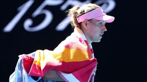 Angelique Kerber hat das Endspiel in Doha verpasst
