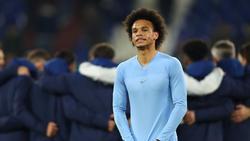 Leroy Sané konnte seine Freude über den Sieg bei Schalke 04 nicht richtig zeigen
