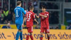 Woo-Yeong Jeong (re.) ist nicht nur beim FC Bayern gefragt