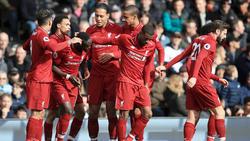 Der FC Liverpool setzte sich gegen den FC Fulham durch