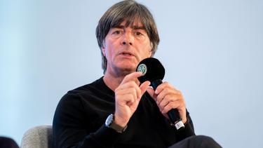 Joachim Löw durante un congreso este año.