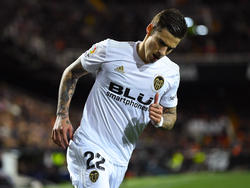 Santi Mina anotó su cuarto doblete de la actual temporada. (Foto: Getty)