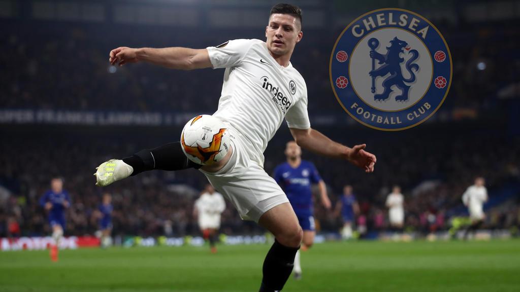 Der FC Chelsea hofft angeblich auf eine Verpflichtung von Luka Jovic