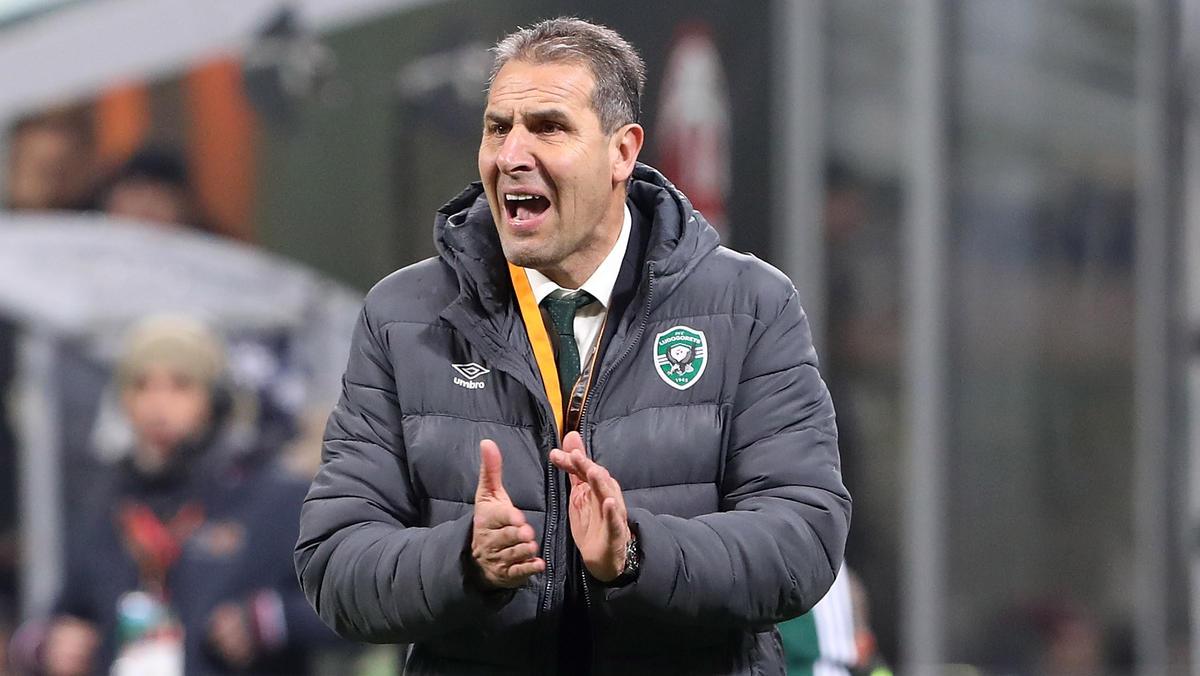 Ludogorez Rasgrad von Trainer Dimitar Dimitrov ist bulgarischer Meister