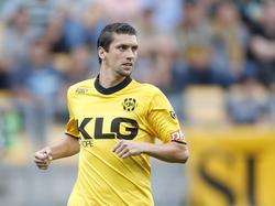 Christian Kum maakt minuten bij Roda JC. De verdediger heeft een basisplaats in het duel met Vitesse. (20-08-2016)