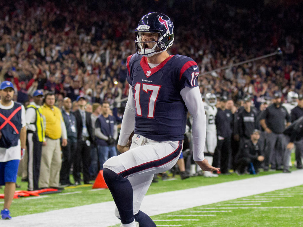 In der Regular Season ausgepfiffen, in den Playoffs bester Mann bei den Texans: Brock Osweiler
