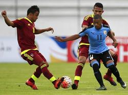 Los venezolanos se quedan con tres puntos en la cuarta posición. (Foto: Imago)