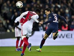 Cavani quiere llevar al PSG al primer título de la temporada. (Foto: Imago)
