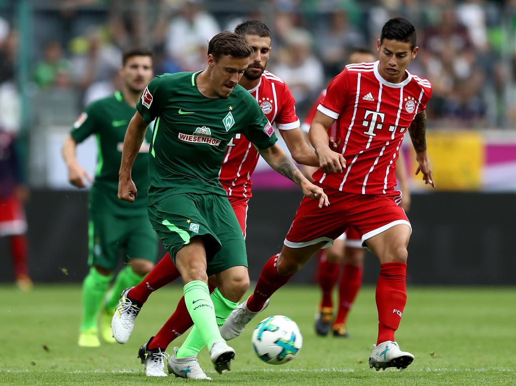 Max Kruse in der Partie gegen den FC Bayern