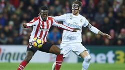 Inaki Williams (l.) hat sich langfristig an Athletic Bilbao gebunden