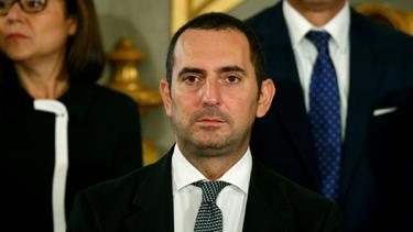 Vincenzo Spadafora (M.) setzt auf neue Technologien