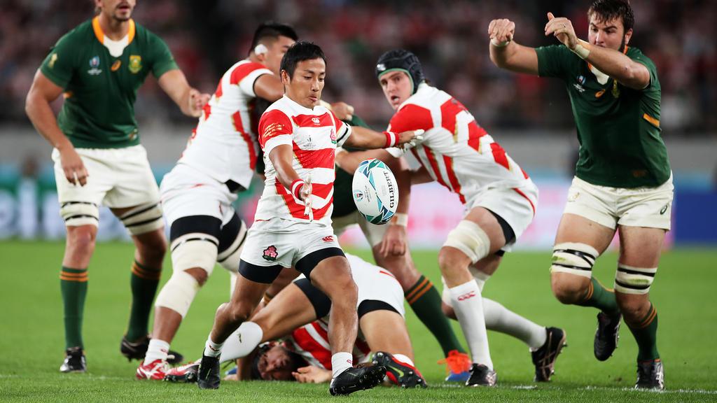 Gastgeber Japan scheidet im Viertelfinale der Rugby-WM aus