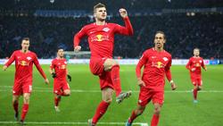 Timo Werner und RBL ließen der Hertha keine Chance