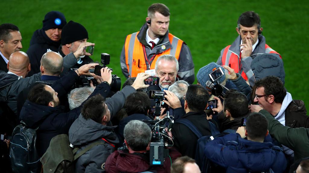 Aurelio De Laurentiis will die Gehälter der Napoli-Stars kürzen
