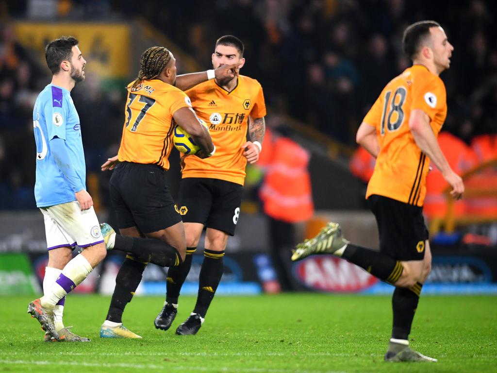 Manchester City patzte gegen Wolverhampton