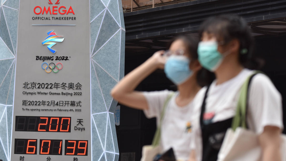 Die olympischen Spiele in Peking stehen im kommenden Winter an